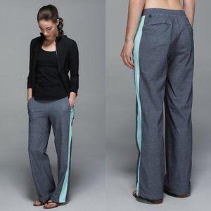 Lululemon Gray & Aquamarine City Summer Pants